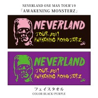 NEVERLAND ONE MAN TOUR '19 フェイスタオル